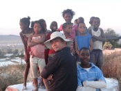 Singapore artist on cultural exchange with African kids for painting workshop